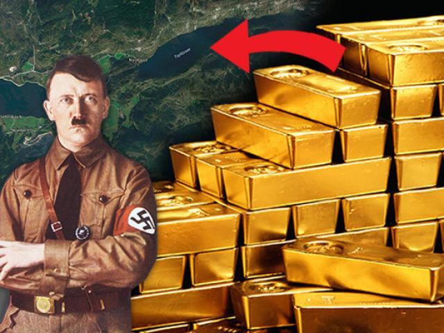 Bí ẩn kho vàng 45 tỉ USD của Hitler 70 năm dưới hồ sâu