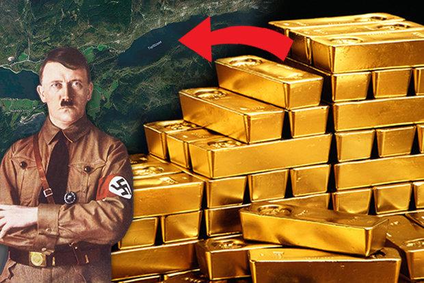 Bí ẩn kho vàng 45 tỉ USD của Hitler 70 năm dưới hồ sâu - 1