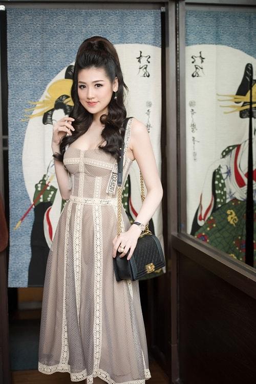 Hà Hồ mặc xuyên thấu đẳng cấp, Phạm Hương đẹp như nữ thần - 6