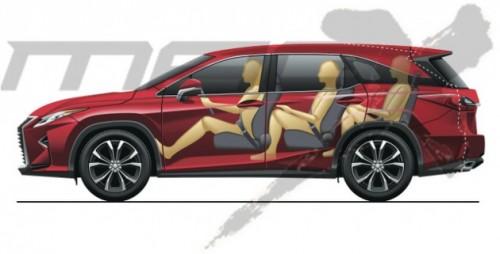 Lexus RX 7 chỗ ấn định ra mắt vào tháng 10/2017 - 1