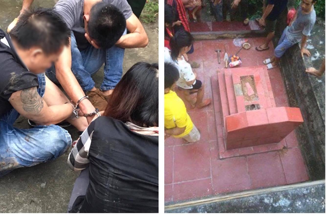 Bí mật phía sau vụ đào trộm mộ cô gái trẻ tìm 5 cây vàng