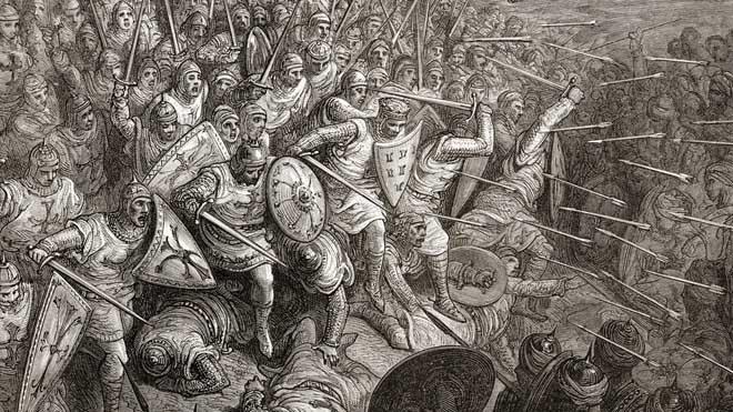 Vị vua Hồi giáo đầu tiên khiến quân Thập tự chinh khiếp sợ - 2