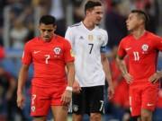 """Sanchez, Vidal siêu vô duyên, Đức được  """" biếu """"  chức vô địch"""