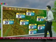 Tin tức trong ngày - Dự báo thời tiết VTV 3/7: Bắc Bộ dịu mát, Nam Bộ nắng đẹp