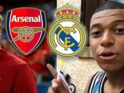 Bóng đá - Chuyển nhượng Real 3/7: Arsenal chi 125 triệu euro đánh úp vụ Mbappe