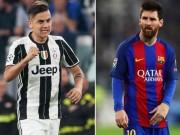 """Tiểu Messi  sút phạt xuyên thủng  """" tường người """"  gây sốc"""