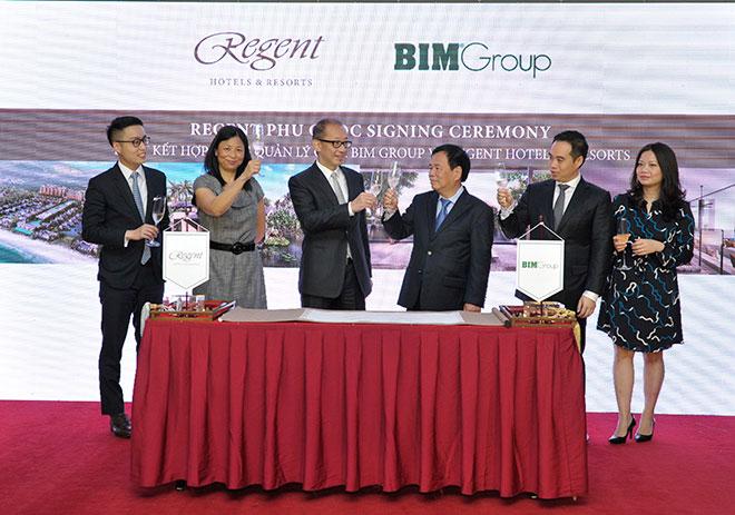 Regent và BIM Group ký kết hợp đồng quản lý dự án Regent Phu Quoc - 5