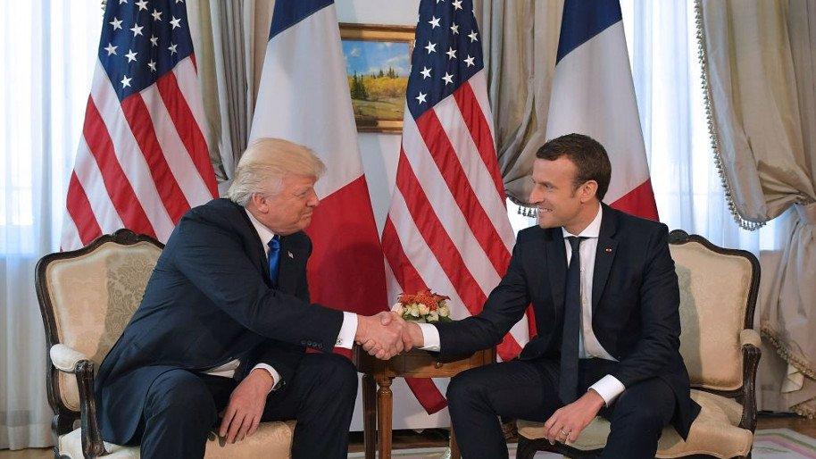 Lộ âm mưu ám sát Tổng thống Pháp khi gặp ông Trump - 1