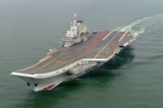 Lần hiếm hoi thế giới được nhìn thấy tàu sân bay TQ - 1