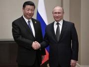 Tập Cận Bình gặp Putin, kí kết thỏa thuận 10 tỉ USD