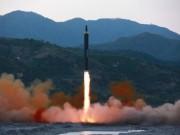 Thế giới - Triều Tiên bắn tên lửa đạn đạo từ gần biên giới TQ