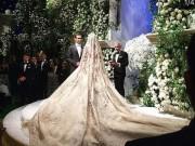 Hai triệu phú Nga  đốt  220 tỉ làm đám cưới cho con