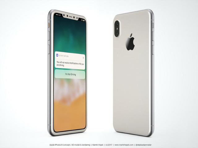 10 tính năng cực hot sẽ có trên iPhone 8