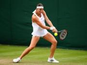 """Wimbledon:  """" Truyền nhân """"  Serena, có bầu 4 tháng vẫn chiến"""