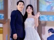 Song Joong Ki lên tiếng về chuyện kết hôn, hứa hẹn trọn đời với Song Hye Kyo