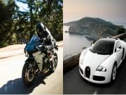 Môtô và ôtô: Thực sự loại xe nào nhanh hơn?