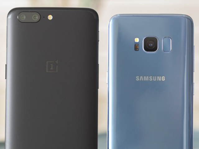 OnePlus 5 dùng camera kép đấu camera của Samsung Galaxy S8