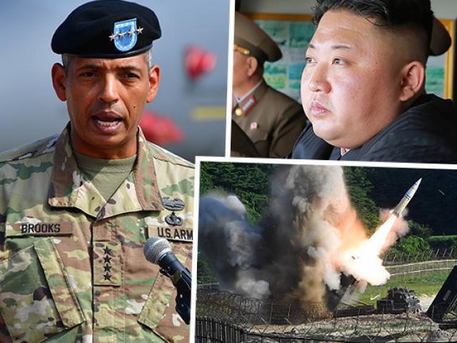 Tướng 4 sao Mỹ nói chờ lệnh chiến tranh với Triều Tiên