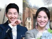 Phim - Song Hye Kyo cưới Song Joong Ki: Cặp đôi nghìn tỷ vô đối của showbiz Hàn