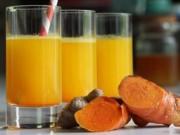 Tin tức sức khỏe - Sai lầm uống tinh bột nghệ liên tục mà dạ dày vẫn đau