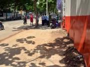 """Tin tức trong ngày - Ông Đoàn Ngọc Hải """"sờ gáy"""" công trình làm bẩn vỉa hè ở Sài Gòn"""