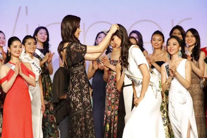 Hoa hậu Hoàn vũ Nhật Bản 2017 bị ghẻ lạnh? - 1