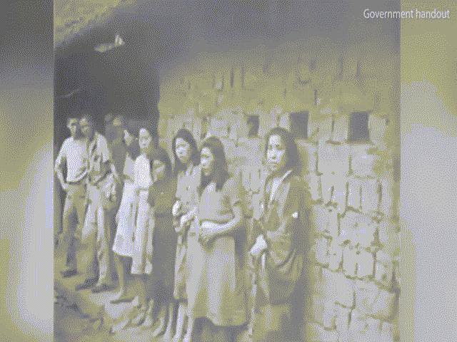 Đoạn phim hiếm về nô lệ tình dục Hàn Quốc thời thế chiến