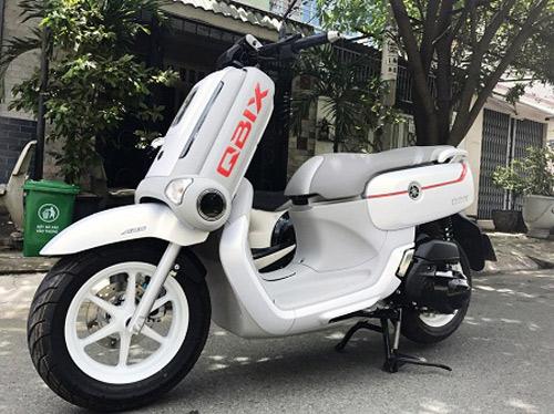 """Xe tay ga dáng """"độc, lạ"""" của Yamaha xuất hiện tại VN"""
