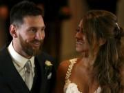 Bóng đá - Lạ đời: Messi làm từ thiện bằng đồ ăn thừa ở đám cưới