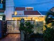Mê mẩn ngôi nhà  nửa mái  ấn tượng ở Vĩnh Long