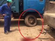 Nổ lốp khi đang bơm hơi, chủ xe ô tô chết thảm