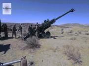 Sức mạnh trọng pháo M777 khiến khủng bố IS chết khiếp