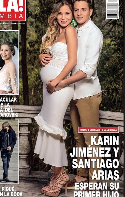 """Vợ 9X của hậu vệ Colombia là """"thánh nữ gợi cảm"""" đất Nam Mỹ - 2"""