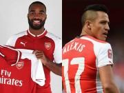 """Arsenal đón tin  """" đại hung """" : Mua  sát thủ , lại mất Sanchez"""