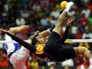 Thể thao - Kỳ lạ SEA Games: VĐV đua nhau luyện tập ở đồn cảnh sát