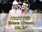 Chi tiết Federer - Zverev: Đẳng cấp hơn hẳn (Vòng 3 Wimbledon) (KT)