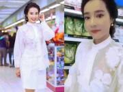 Thời trang - Bạn gái Trường Giang táo bạo với áo xuyên thấu HOT nhất tuần