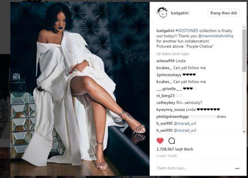 1,7 triệu người thích Rihanna mặc váy của Công Trí - 1
