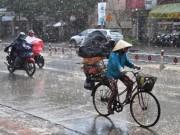 Tin tức trong ngày - Bắc Bộ mưa to liên tiếp trong 6 ngày tới
