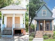 Nhà cũ nát  lột xác  đẹp như biệt thự nâng giá bán lên gấp 34 lần