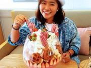 """Thánh ăn cũng phải  """" choáng váng """"  với kem ly khổng lồ này"""