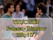 Chi tiết Federer - Dimitrov: Không đủ ổn định (Vòng 4 Wimbledon) (KT)
