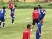 """Bóng đá - U23 Việt Nam: Luyện đòn hồi mã thương và những cú """"nã pháo"""""""