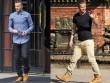 Beckham cứ sành điệu như này trách sao các chân dài mãi mê mệt