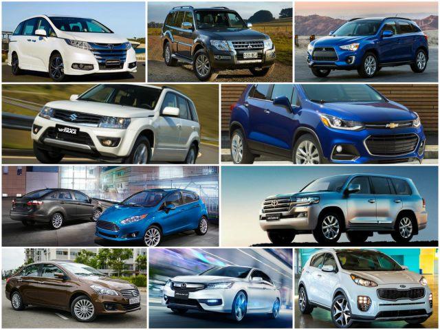 """10 mẫu ô tô """"ế"""" nhất Việt Nam tháng 6/2017"""