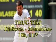 Chi tiết Djokovic - Mannarino: Điểm quyết định (KT)