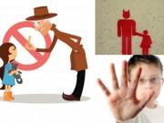 Góc đồ họa - 5 quy tắc cảnh giác tội phạm bắt cóc trẻ em