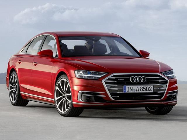 Audi A8 2018 hoàn toàn mới có giá từ 2,3 tỷ đồng