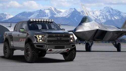 Siêu bán tải Ford F-150 mang phong cách chiến đấu cơ F-22 Raptor - 1