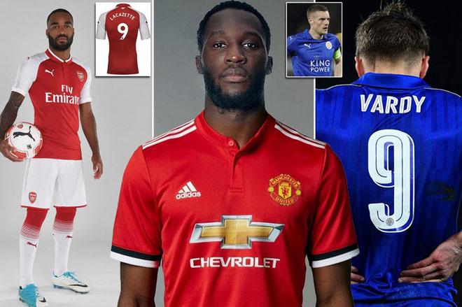 Số 9 Ngoại hạng Anh mùa tới: Ai địch nổi MU - Lukaku?